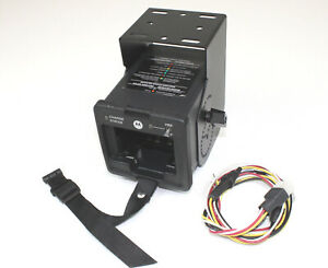 Motorola Trbo Vehicle Charger Nntn7616a Xpr6550 Xpr6580 Apx4000 full Kit