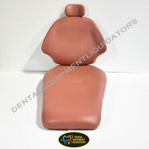 Belmont Acutrac Wide Back Vinyl Dental Patient Chair Upholstery Replacement Set