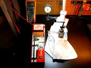 Starrett Dial Test Indicator 196b1 001in Lufkin Miti mite Magnetic Base