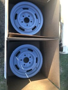 2 1968 Chevelle Rally Wheels K 1 8 Xb 14x6