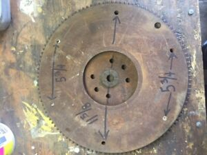1949 1953 Ford Flathead V8 Flywheel 14 1 8 Diameter 5 8 Ring Gear 112 Tooth