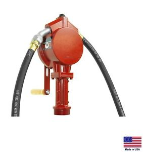 Fuel Transfer Pump For Gasoline Multiple Fuels Rotary Tank Or Drum Mount