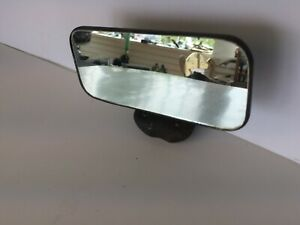 Early Rectangle Rear View Mirror Nice Clear Ford Chevrolet Mercury Buick Olds