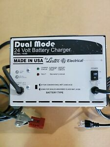 Lester 24 Volt Battery Charger Dual Mode Automatic New Model 18360