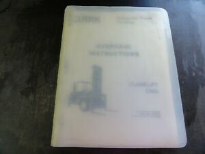 Clark Clarklift C500 Forklift Overhaul Instructions Manual Oh 354