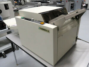 Morgana Plockmatic 60b Booklet Maker Warranty Duplo Horizon Mbm