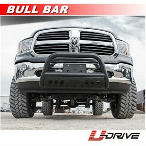 3 Black Stainless Bull Bar Fits 2002 2005 Dodge Ram 1500 Front Bumper Guard