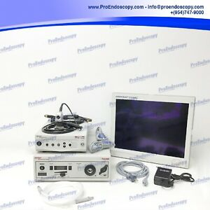 Stryker 988 Camera System Set With Light Source Hd Monitor
