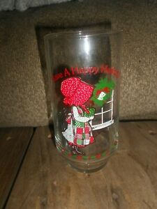 VINTAGE HOLLY HOBBIE COLLECTIBLE COCA-COLA DRINKING GLASS-GREAT CONDITION!