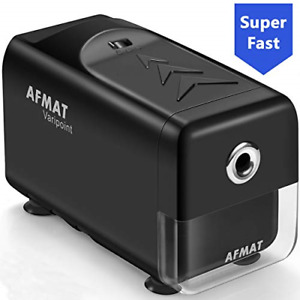 Electric Pencil Sharpener Heavy Duty Classroom Auto Stop Super Fast Commercial