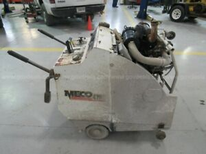 Meco M42 30 Commercial Walk Behind Concrete Saw