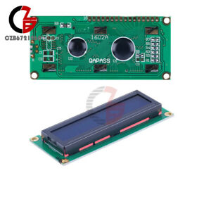Lots Lcd 1602 16x2 Character Display Hd44780 Module Blue Blacklight For Arduino