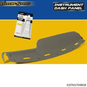 For 94 97 Dodge Ram 1500 2500 3500 Molded Dash Board Pad Cap Cover Overlay Tan