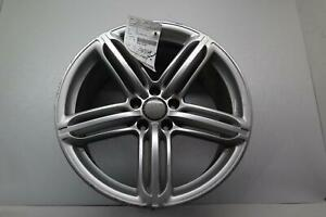 2013 Audi S5 Wheel 19x9 Alloy 5 Spoke Slotted Spokes W cap Oem