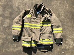 Morning Pride Fire Fighter Turnout Jacket 38 29 35 31 Bunker Gear 2763