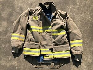 Morning Pride Fire Fighter Turnout Jacket 42 29 35 34 Bunker Gear 2766