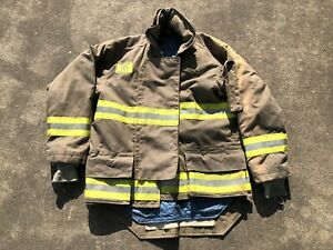 Morning Pride Fire Fighter Turnout Jacket 44 29 35 34 Bunker Gear 2773