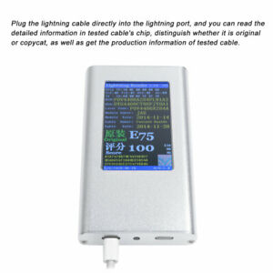 616 8 P In Charging Cable Reader Tester Truefalse Detector Recognizer For Iphone