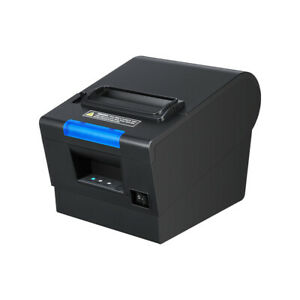 Us 3 1 8 80mm Usb Serial Ethernet Receipt Pos Thermal Printer With Auto Cutter