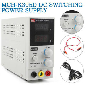 Adjustable Variable Digital Display Switching Dc Power Supply 0 30v 5a 110v Fast