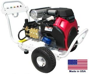 Pressure Washer Commercial Portable 8 Gpm 3500 Psi 24 Hp Honda Gp