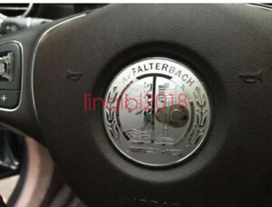 Mercedes Benz amg Steering Wheel Decal Silver Badge 5 2cm For All Models