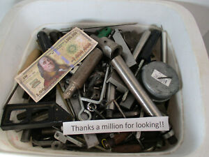 Huge 27 Pound Lot Of Machinist Leftover Stuff Bore Gage Rod S Tools Doo Dads