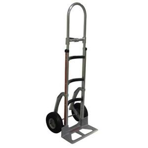 Magliner Hand Truck Dolly Cart Mover Curved Cast Nose Plate Stair Climbers 500lb