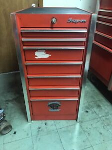 Snap On 75th Anniversary Vintage Side Cabinet 7 Drawers