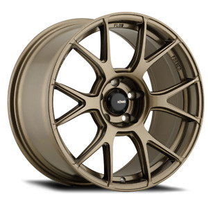 19x10b Konig Ampliform 5x120 28 Gloss Bronze Wheels Set Of 4