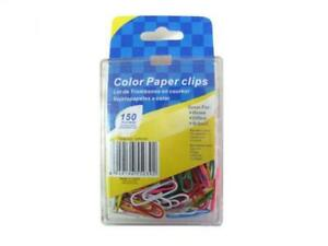 Colored Paper Clips 24 Packs
