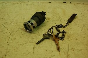 1950s 1960s Oem Ford Fomoco Ignition Switch With Two 2 Keys