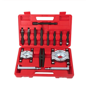 14pcs Bearing Separator Puller Kit 2 And 3 Splitters Remove Bearings Tool Set