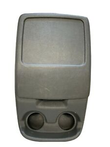 92 96 1992 1996 Ford Truck Or Bronco Dark Gray Center Console Oem