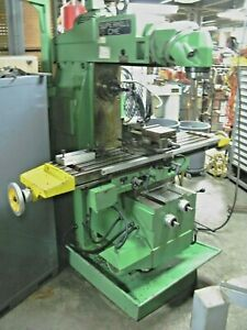 Cme Supermill Universal Milling Machine fu 2 Cm Lots Of Tooling