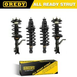 Qty 4 Complete Struts Shocks Coil Springs W Mounts For Honda Element 03 11