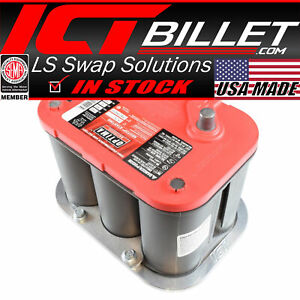 Billet Optima Battery Relocation Tray Hold Down Mount