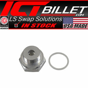 Lt Ls M12 1 5 Coolant Water Temperature Sensor Relocation Adapter Lt1 Lt4 Ls1