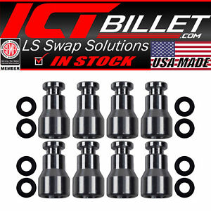 Fuel Injector Spacer Set Of 8 Ls1 Ls6 Intake Manifold To Ls Truck Injector Ad