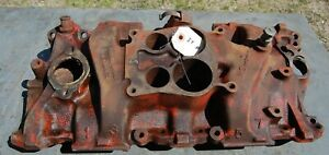 Oem 1976 1982 Gm 4 Chevy Intake Manifold 346250 305 And 350 Cu Engine 4 Bbl