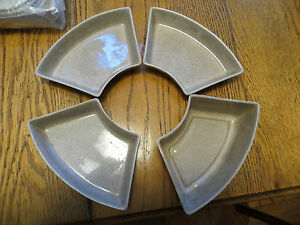Estate Mid Century Modern Snack Condiments Servers Candy Nuts Hors D Oeuvre