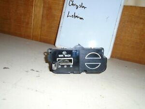 Used 1979 Chrysler Lebaron Windshield Wipers Switch P111