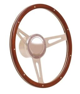 Steering Wheel Gt9 Retro Cobra Wood