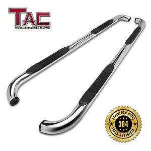 For 1999 2004 Jeep Grand Cherokee Suv 3 Chrome Side Step Nerf Bar Running Board
