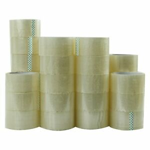 36 Rolls Carton Sealing Clear Packing shipping box Tape 2 Mil 2 X 55 Yards