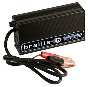 Braille Auto Battery Lithium Battery Charger 6amp Micro Lite 1236l