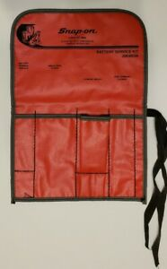 Snap On Tools Kit Bag C0410 Battery Service Kit Pouch 2004bsk