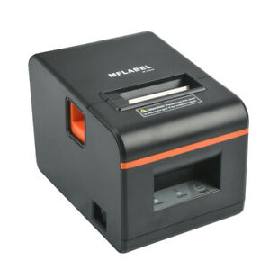 Mflabel Thermal Receipt Pos Professional Printer With Usb Lan Seriel Port