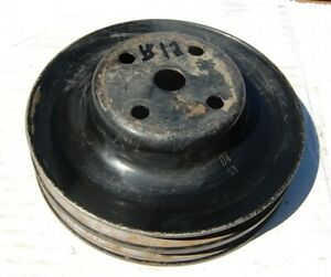 Mopar A B E Body Double Groove Water Pump Pulley 36989 318 340 393 440