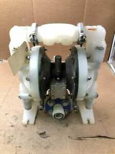 Ingersoll Rand Aro 6661b3 344 c 1 Pp Air Operated Double Diaphragm Pump 120psig